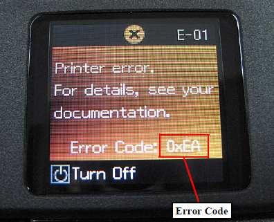 Epson printers Fatal Error description